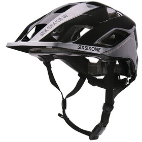 SixSixOne EVO AM MIPS Fietshelm, metallic black